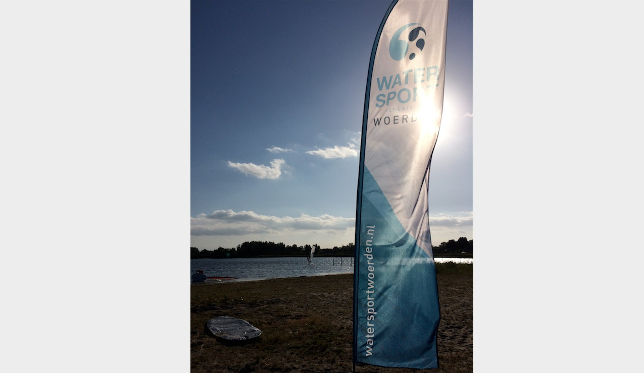 Windsurfles bij Watersport Woerden